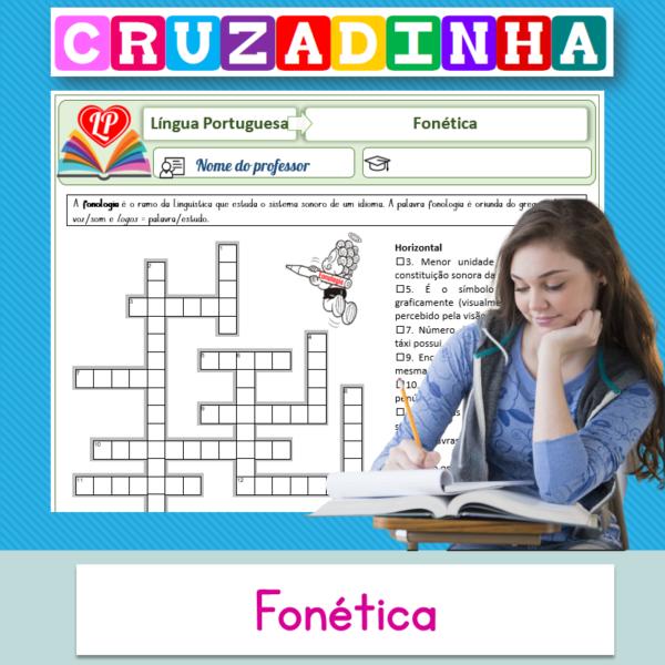 Fonética – Cruzadinha