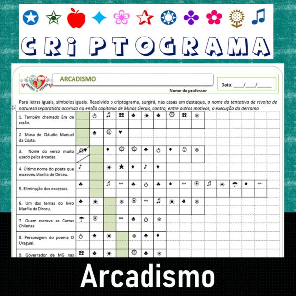 Criptograma do Arcadismo