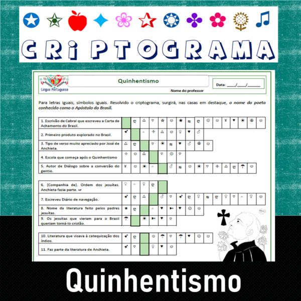 Criptograma do Quinhentismo