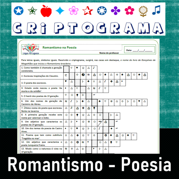 Criptograma do Romantismo Poesia