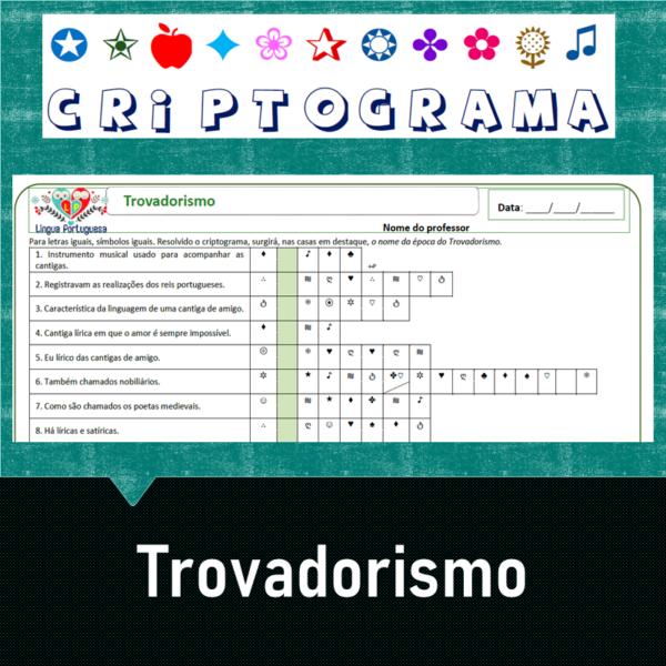 Criptograma do Trovadorismo
