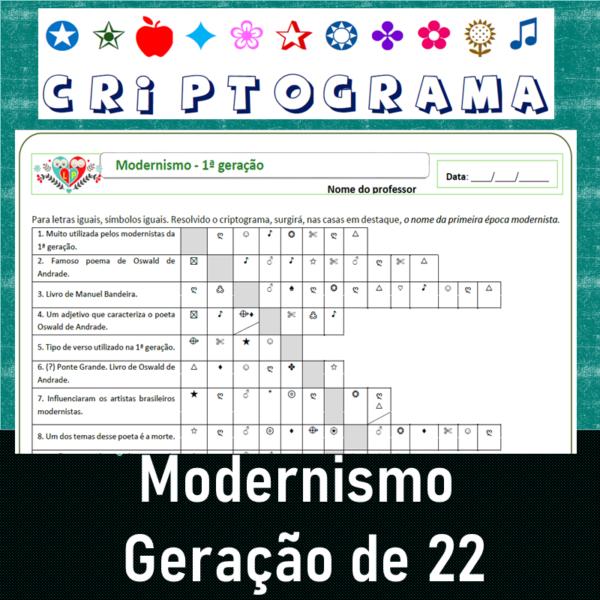 Criptograma da Geração de 22