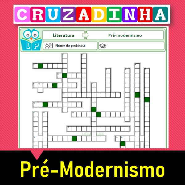 Cruzadinha do Pré-modernismo