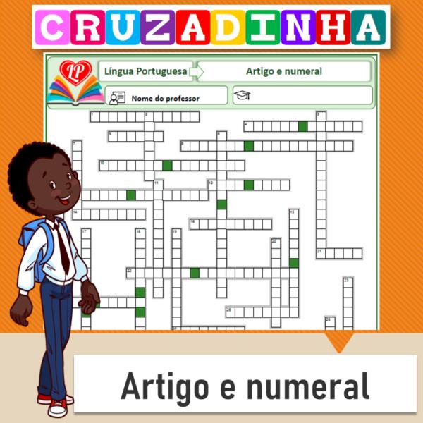 Cruzadinha – Artigo e numeral