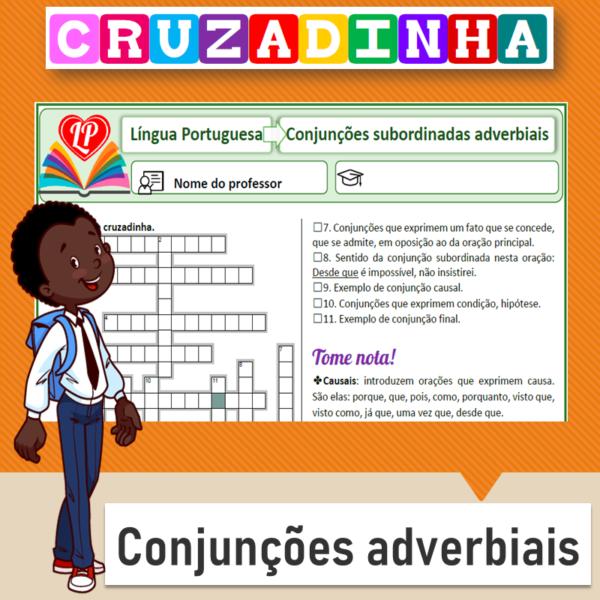 Cruzadinha – Conjunções adverbiais 2