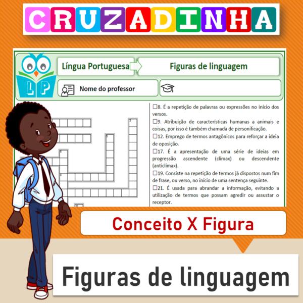 Cruzadinha – Figuras de linguagem 1