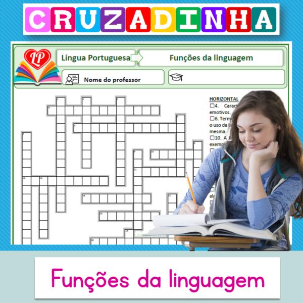 Funções da linguagem – Cruzadinha