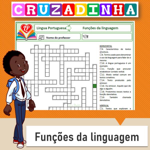 Cruzadinha – Funções da linguagem