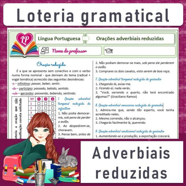 Adverbiais reduzidas – Loteria gramatical
