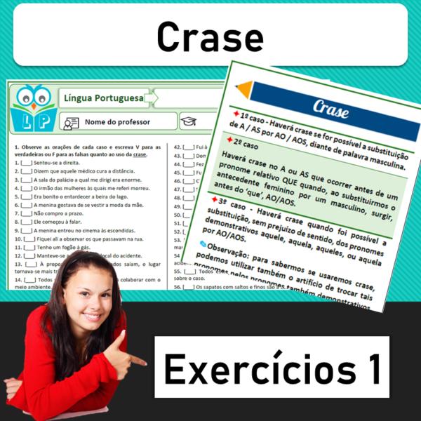 Crase – Exercícios 1