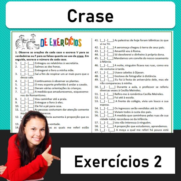 Crase – Exercícios 2