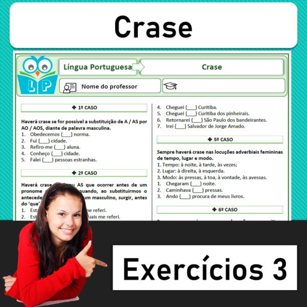 Crase – Exercícios 3