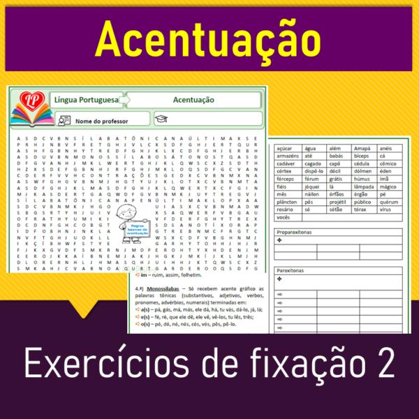 Acentuação – Exercícios de fixação 2