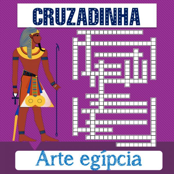 Arte egípcia – Cruzadinha