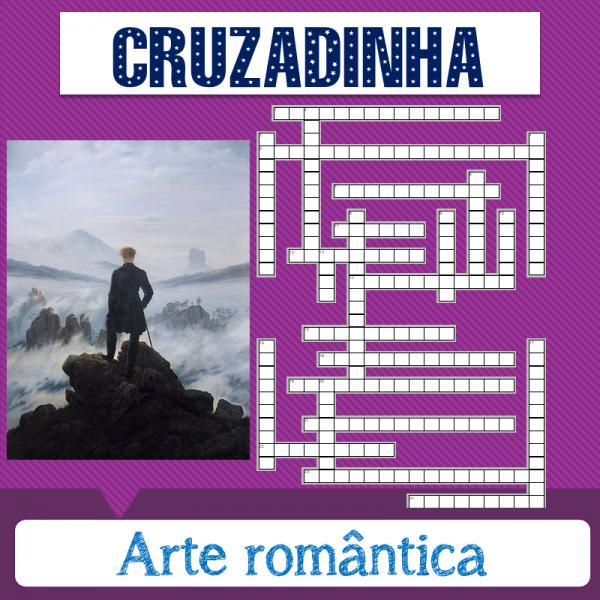 Arte romântica – Cruzadinha