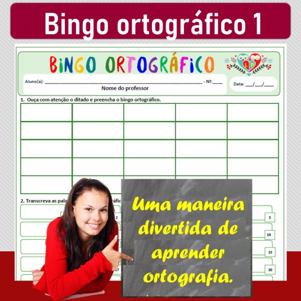 Bingo ortográfico 1
