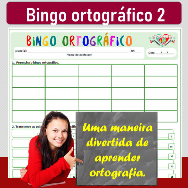 Bingo ortográfico 2