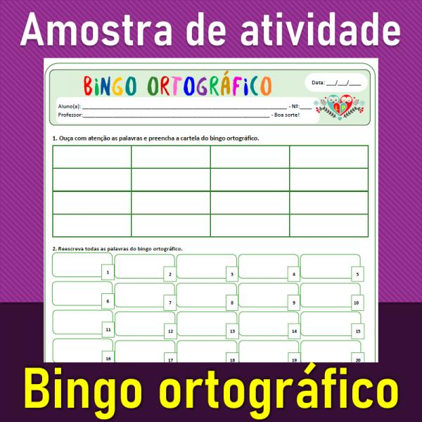 Bingo ortográfico
