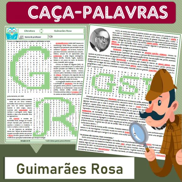 Guimarães Rosa – Caça-palavras