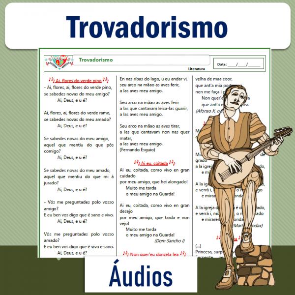 Trovadorismo – Áudios
