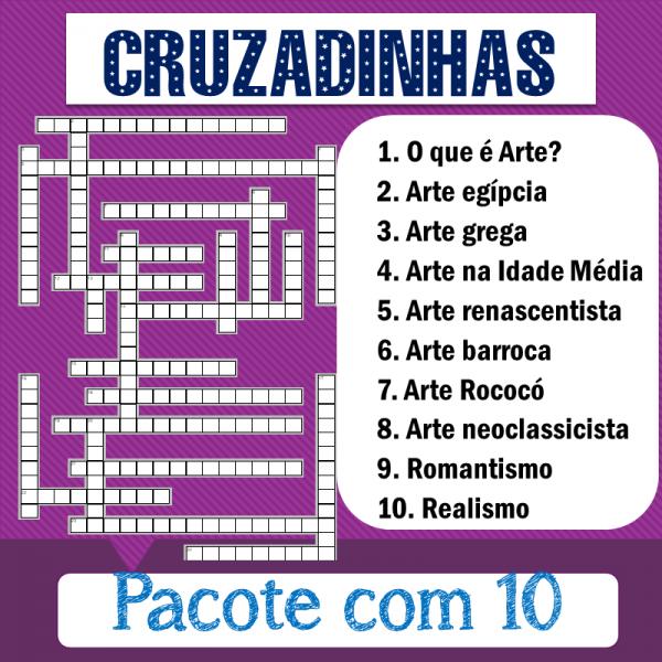 10 cruzadinhas – Arte