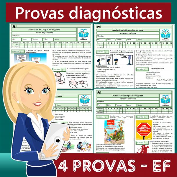 Provas diagnósticas – Ensino Fundamental