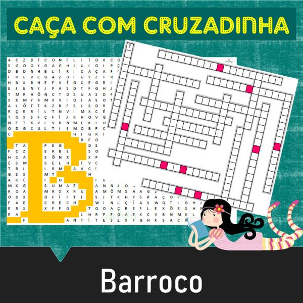 Barroco – Caça com cruzadinha