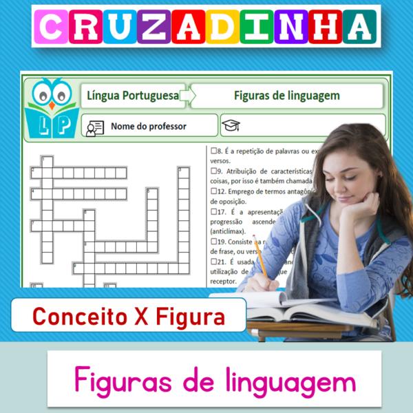 Figuras de linguagem 1 (Conceito X figura) – Cruzadinha