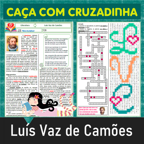 Luís Vaz de Camões – Caça com cruzadinha