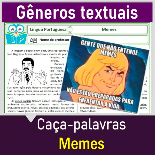 Memes – Caça-palavras
