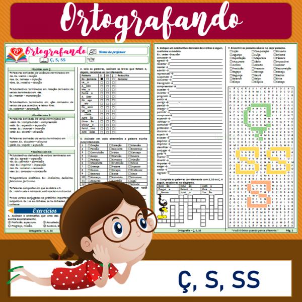 Ç, S, SS – Ortografando