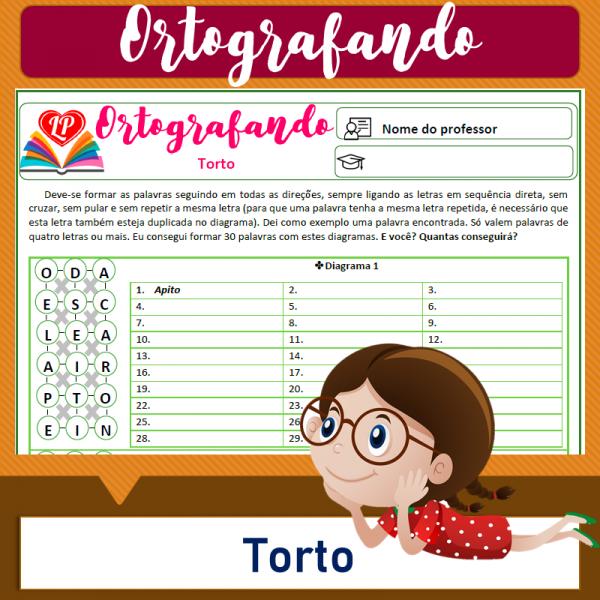 Torto 1 – Ortografando