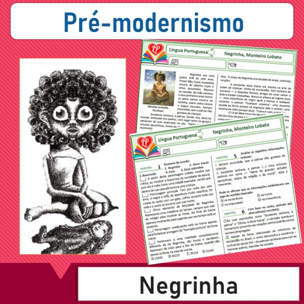 Negrinha, Monteiro Lobato