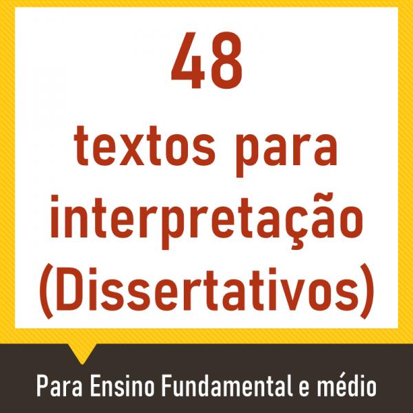 48 textos para interpretação