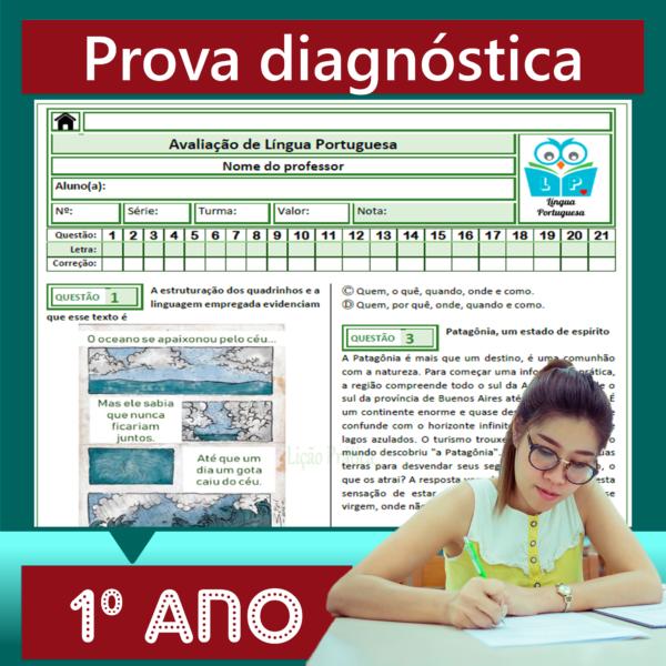 Prova diagnóstica – 1º ano