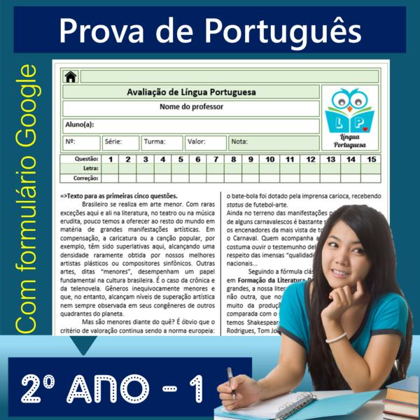 Prova de Português – 2º ano 1
