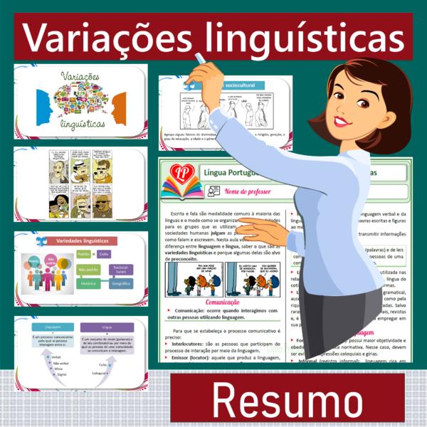 Variações linguísticas – Resumo