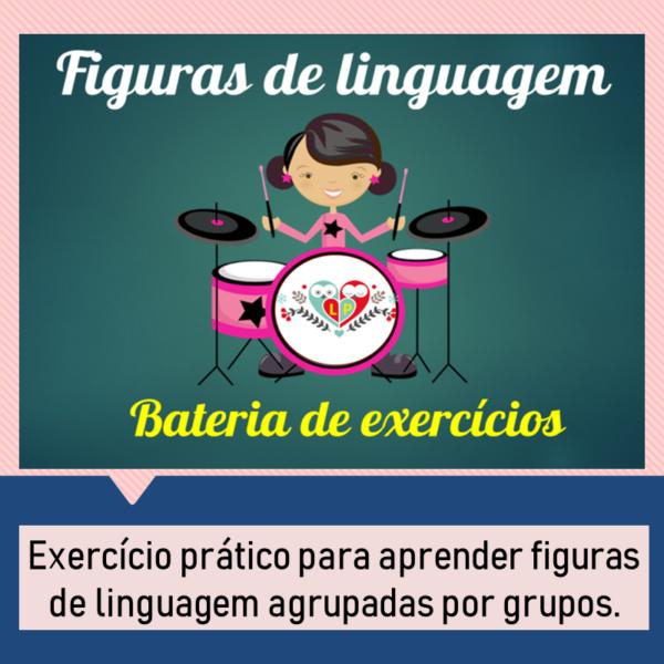 Figuras de linguagem – Bateria de exercícios 1