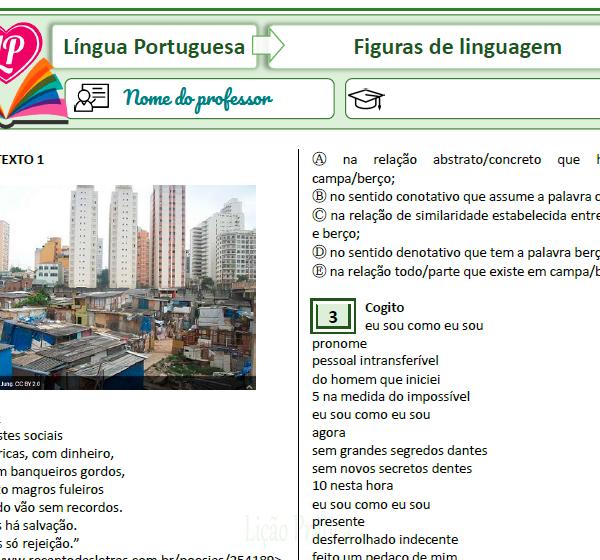 Figuras de linguagem – simulado 2