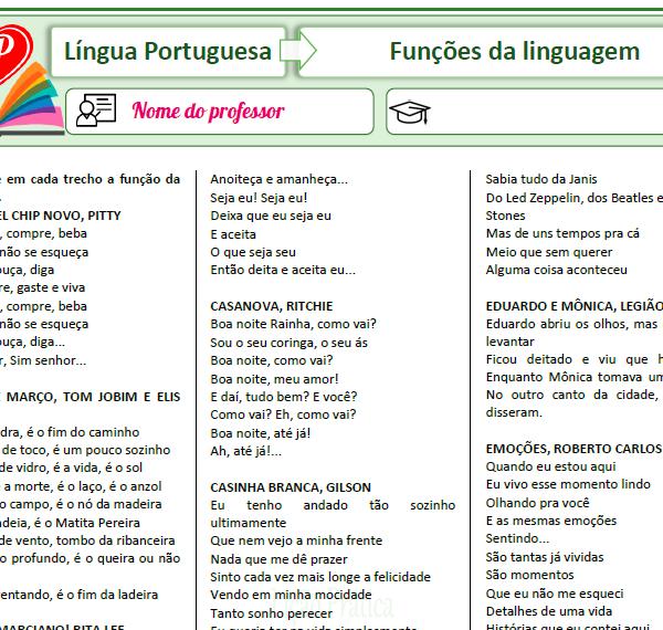 Elementos e funções da linguagem – Audiolivro