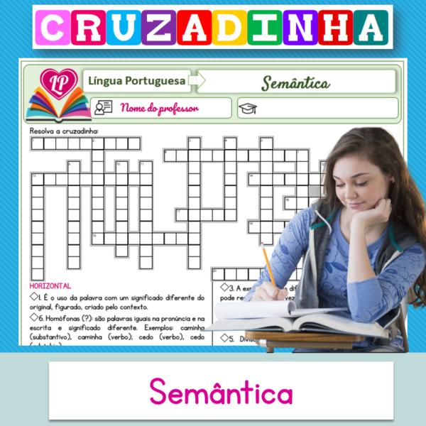 Semântica – Cruzadinha